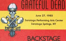 Grateful Dead - Saratoga