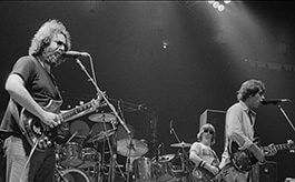 Grateful Dead live at Madison Square Gardens